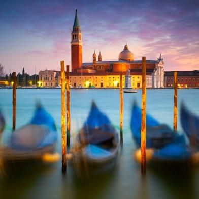 Night-time Venice